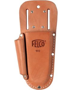 Felco 910 Plus Leather Holster W-Belt loop & Clip F910+